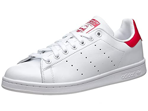 89aa454b36e8 Adidas Stan Smith Red White Sneakers Shoes FOR Men  Buy Online at Low  Prices in India - Amazon.in