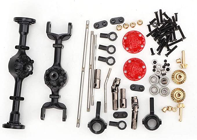 Amazon.com: VGEBY1 RC Car Modification Upgrade Kit, Metal Upgrade Part Kit for WPL 1/16 B14 B24 B26 C14 C24 RC Car Accessories: Toys & Games