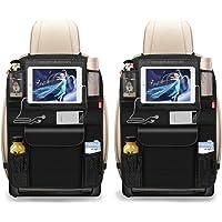 BANNIO Autostoel organizer, 2 stuks, waterdichte kickmatten, autoradiator, achterbank met meerdere zakken, inclusief 12…