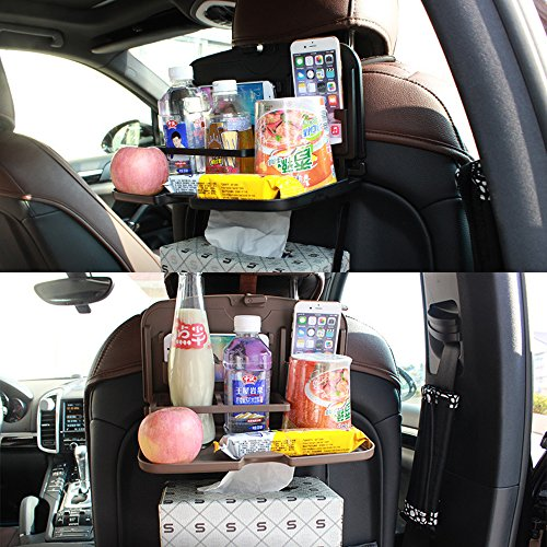 Lot de 2/boissons Porte-bouteille pliable bo/îte Support porte-gobelet plastique blanc voiture bateau