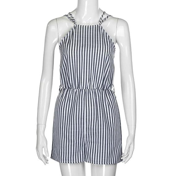 Amazon.com: Teresamoon Beach Playsuit, Womens Mini Playsuit Ladies Summer Shorts Jumpsuit: Clothing