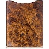 Western Cowboy Rustic Brown Distressed Leather iPad Mini, Galaxy, & Kindle Tablet Sleeve
