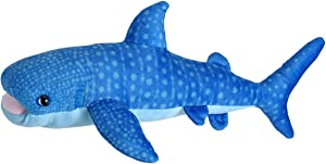 Wild Republic Blue Whale Plush, Stuffed Animal, Plush Toy, Gifts for Kids, Living Ocean 12""