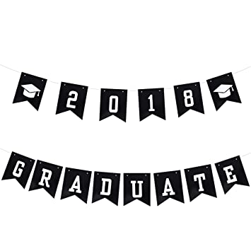 oulii graduation party banner photo props decorations 2018 graduate