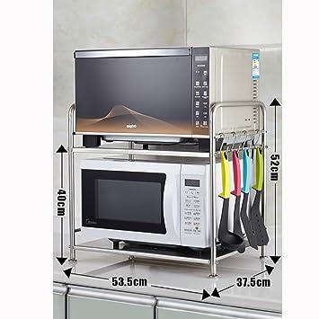 YANZHEN Estantería Cocina Baldas Horno Microondas Horno Multifunción Acero  Inoxidable 9b42157dadff