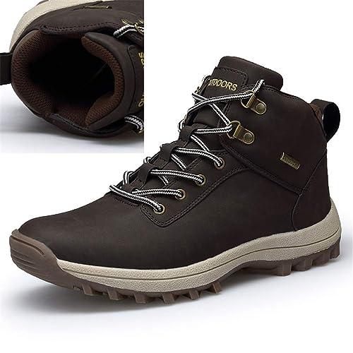 Hombres Botas Invierno Lona Piel Adentro Nieve Caliente Zapatos Moda Hombre  Goma Tobillo ATA para Arriba Calzado De Correr Al Aire Libre Instructores   ... 3bf7cdfc24d