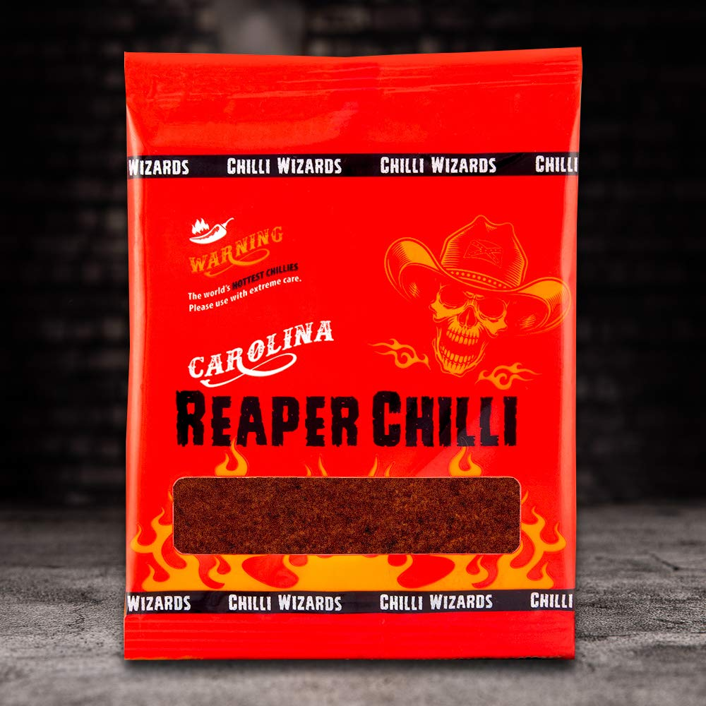 Chilli Powder - 100% Carolina Reaper 2 million shu 10g
