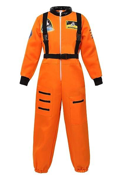 Amazon.com: Disfraz de astronauta para niños de Frawirshau ...
