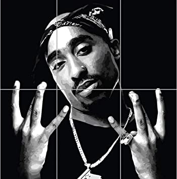 Amazon Com Doppelganger33 Ltd 2pac Tupac Shakur Hip Hop Rapper