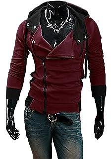 MN FSHN Mens Modern Fasion Hooded Sweatshirt M101 Black XXX-Large
