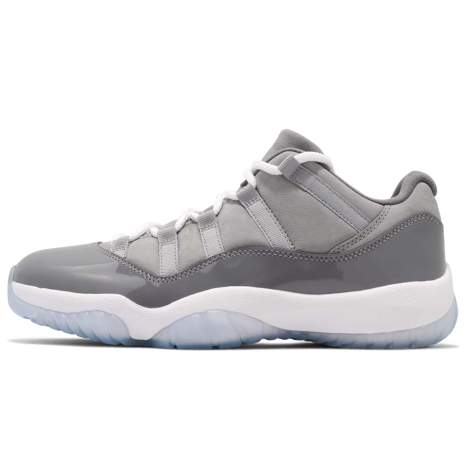 brand new 80151 13ede ... promo code for galleon nike air jordan retro 11 low cool grey mens  basketball shoes 8