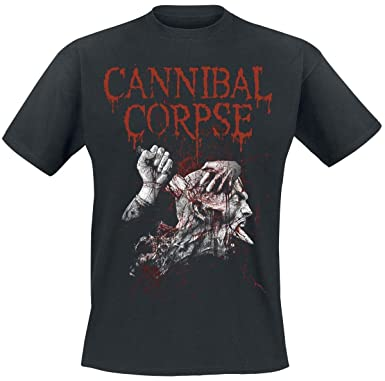 Cannibal Corpse Stabhead 2 T-Shirt Black  Amazon.co.uk  Clothing 0b0a9249c468