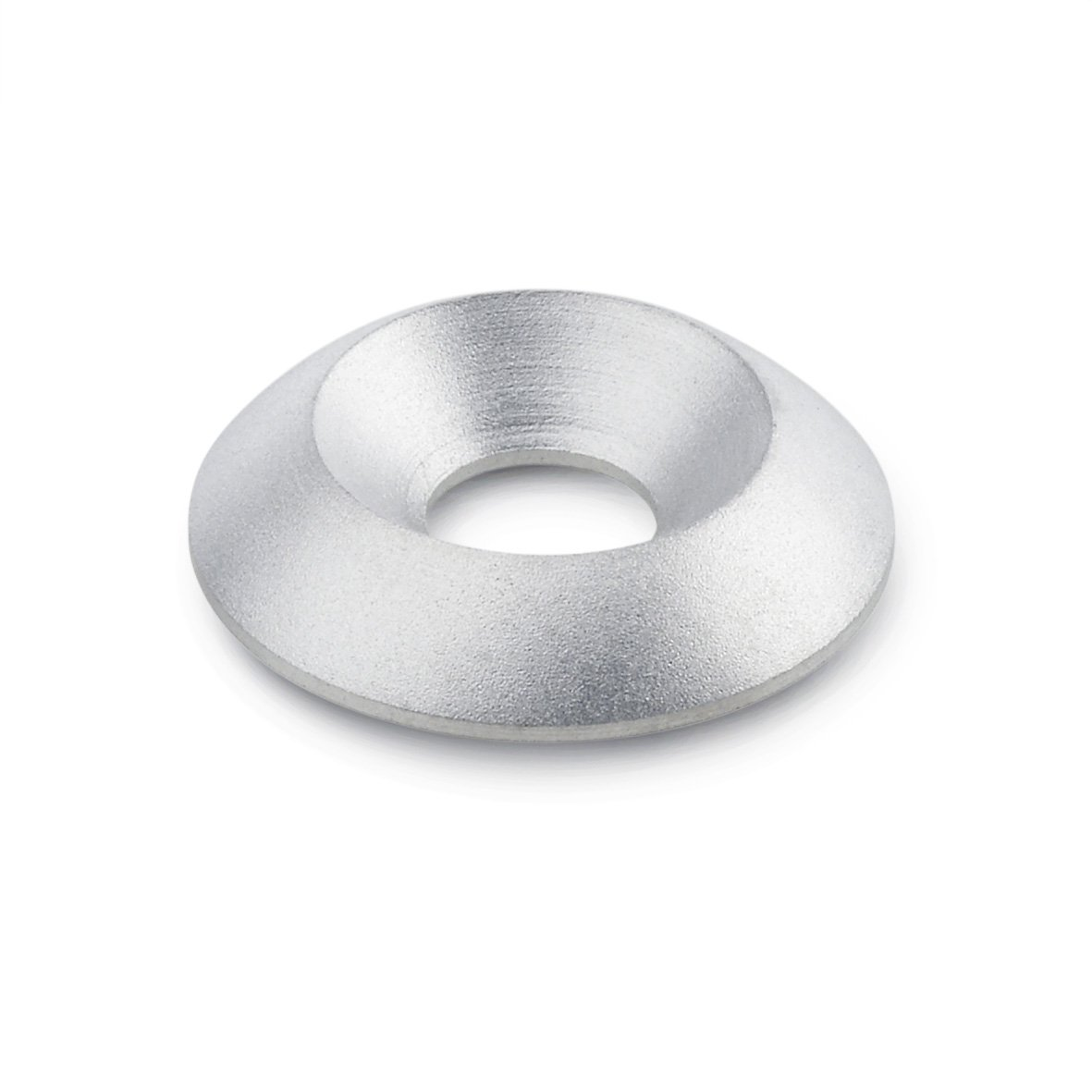 Winco 22WBAC Countersunk Washer with Plastic Cover Disk J.W Stainless Steel 22 mm OD x 60.4 mm ID GN185
