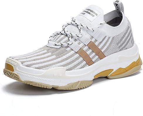 TUOKING Zapatillas de Deporte durables para Hombre Zapatillas de Senderismo Transpirables Calcetines de Calcetines Ligeros Zapatillas para Correr Zapatos para Correr: Amazon.es: Zapatos y complementos