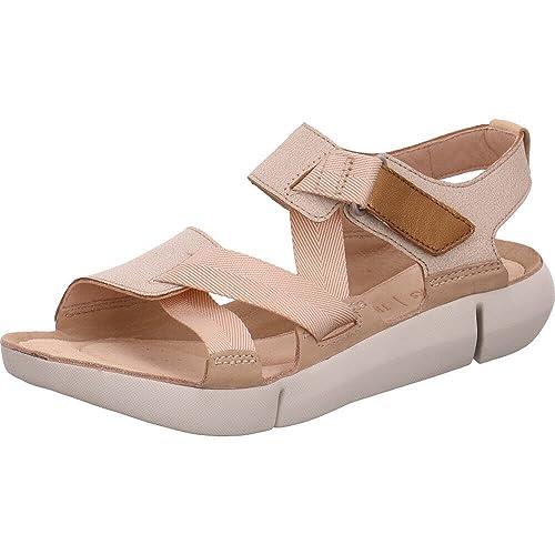 visión Sin alterar Para construir  Buy Clarks Women's Tri Clover Fashion Sandals at Amazon.in