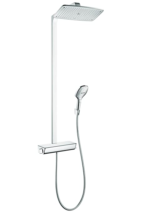 Hansgrohe 27112001 Raindance Select Shower Pipe, Chrome, Bathroom ...