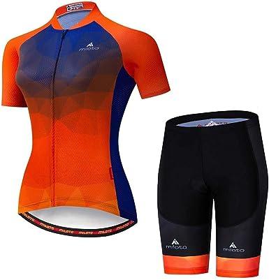 L.J.JZDY Jersey de Ciclismo Traje de Montar en Bicicleta ...