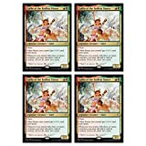 Magic The Gathering - Gallia of The Endless Dance - Theros Beyond Death - x4 Card Lot Playset - 217/254 Rare MTG