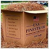 USA Pine Straw   On Sale   Premium Pine Needle Mulch - 210 Sqft.