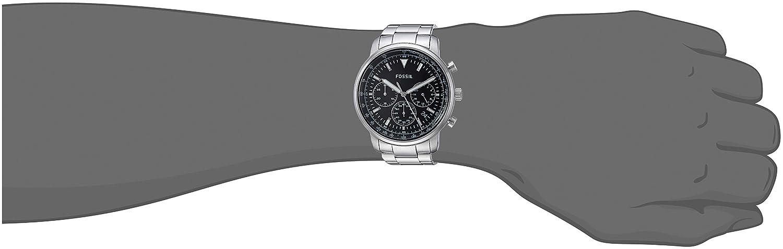 Uhr Herren Armband Mit Quarz Fossil Edelstahl Analog Fs5412 CxBerdoW