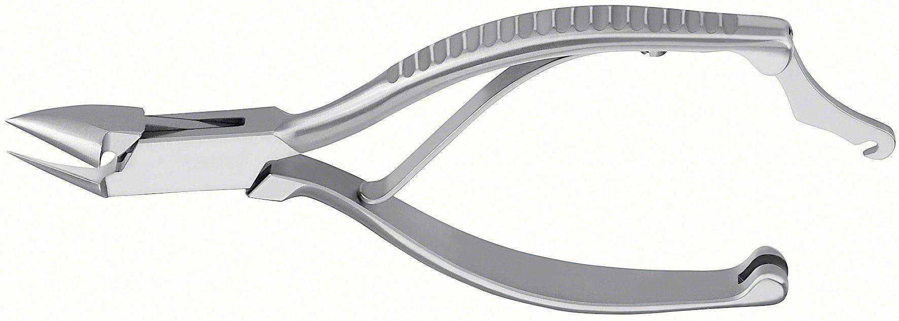 Aesculap HF223R Nail Nipper Forceps, Straight Cutting Edge, 5-1/8, OR Grade