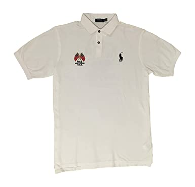 d54256e1 Polo Ralph Lauren Men's Big & Tall Crossed-Flags USA Polo Shirt at Amazon Men's  Clothing store: