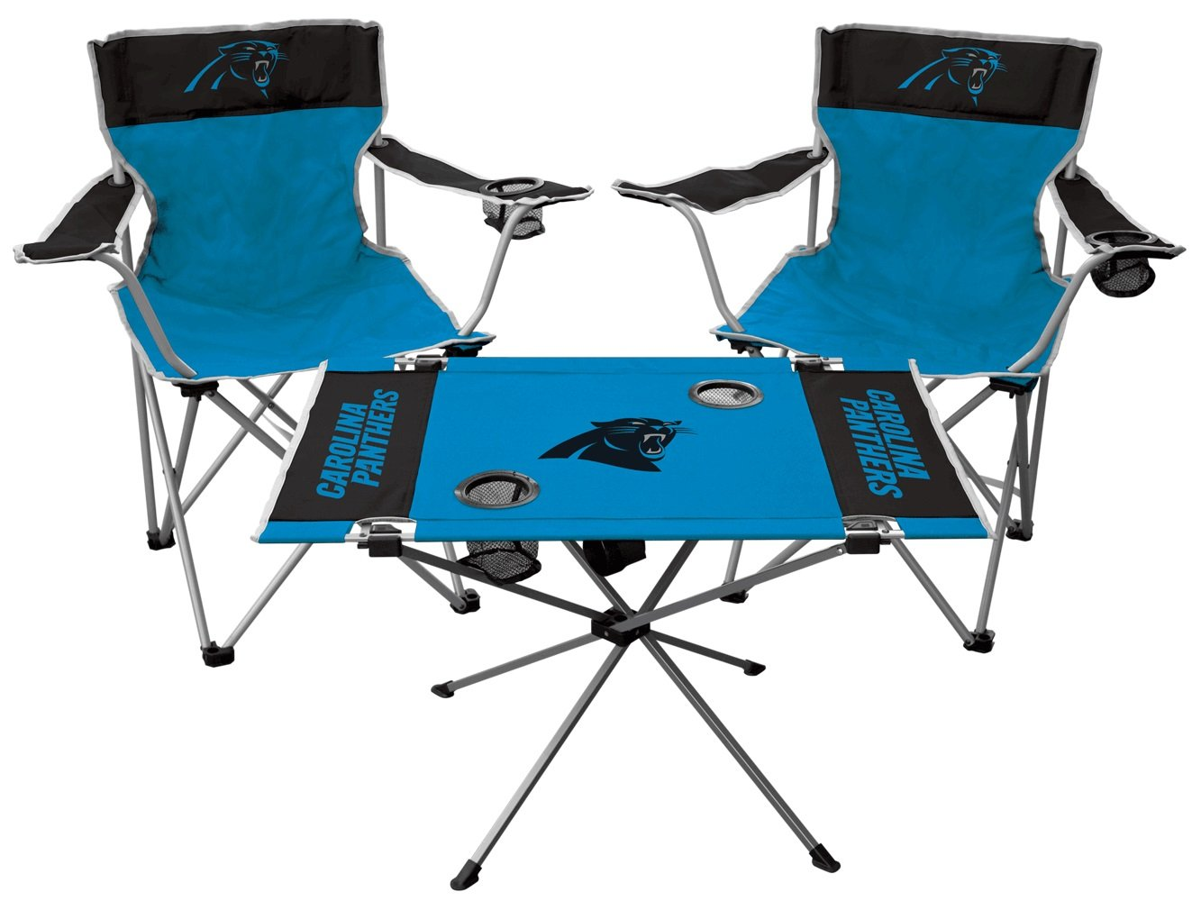 NFL Carolina Panthers Tailgate Kit, Team Color, One Size