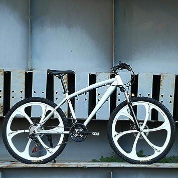 KNFBOK bicicleta montaña adulto Adulto de 21 velocidades bicicleta ...