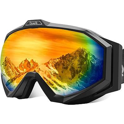 【1月10日まで】OCOOPA 180°球面レンズ採用 UVカット スノーゴーグル 税込899円 プライム会員送料無料