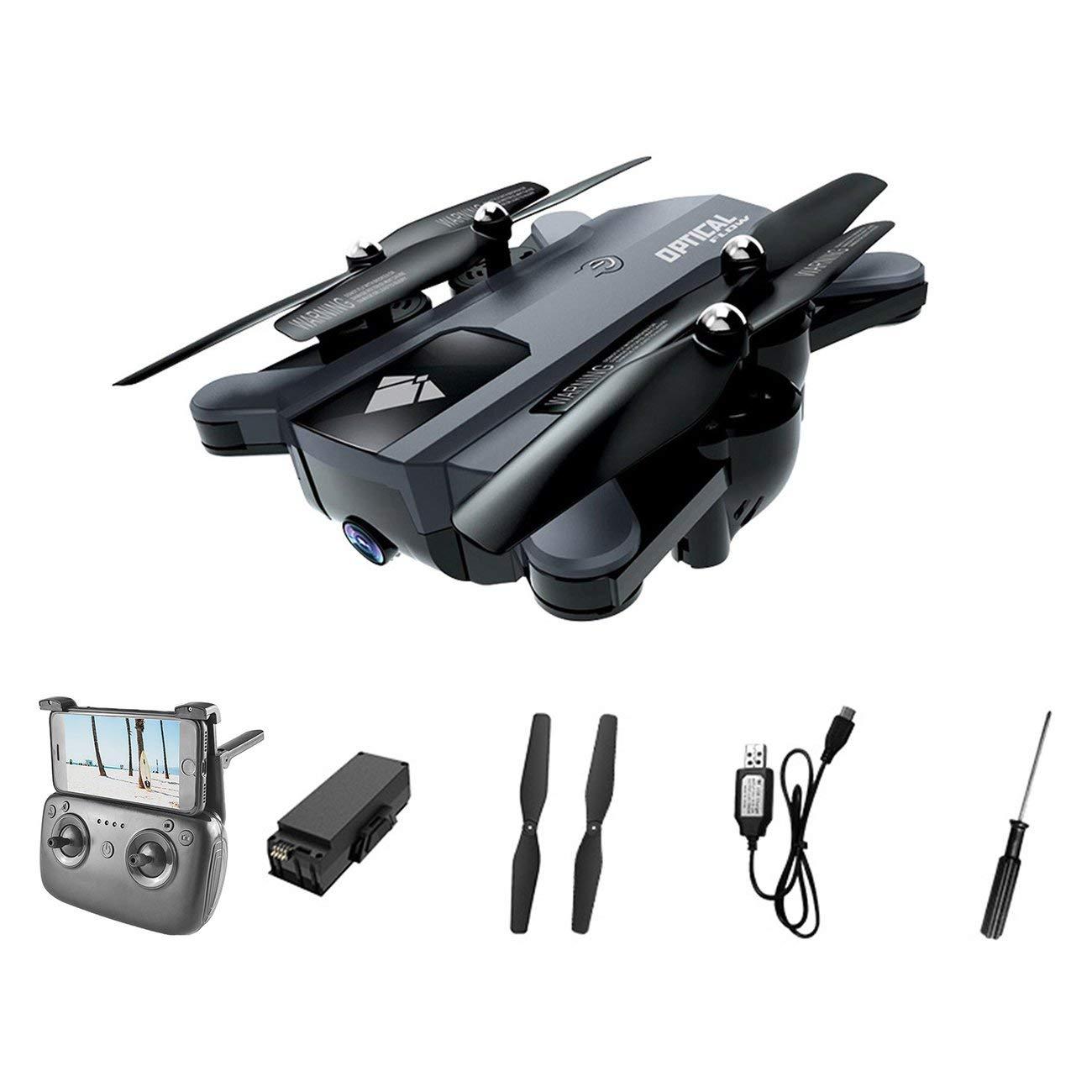 F196 Langlebige 2,4G Optical Flow Drone Quadcopter mit 720 P Kamera