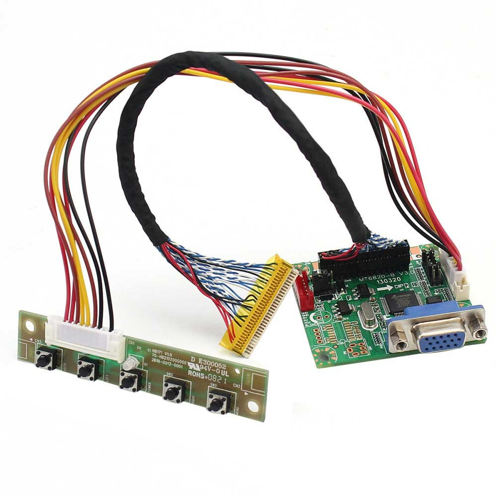 Universal Mt6820 B Lvds Lcd Monitor Driver Controller Promotional Led Circuit Board Buy 19201200 17 42 Computers Accessories