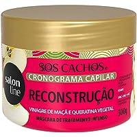 MASCARA SALON LINE CRONOGRAMA CAPILAR RECONSTRUCAO 300GR