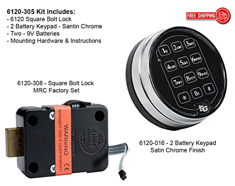 Sargent & Greenleaf 6120 Electronic Safe Lock