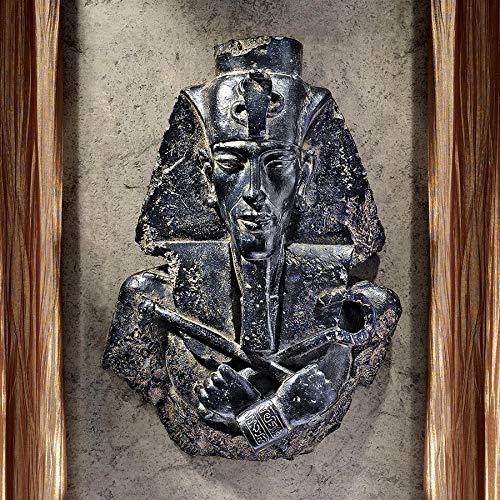Design Toscano Egyptian Pharaoh Akhenaten Wall Sculpture