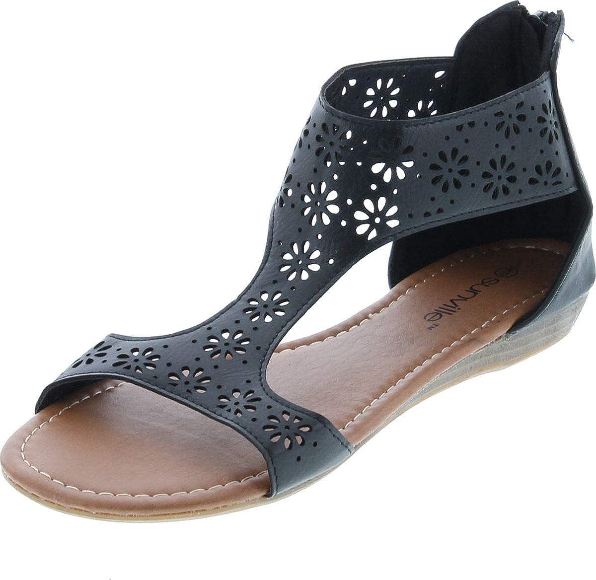 Sunville Womens Gladiator Fashion Sandals