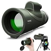 Vivreal IPX7 Waterproof 12x42 HD Monocular Telescope