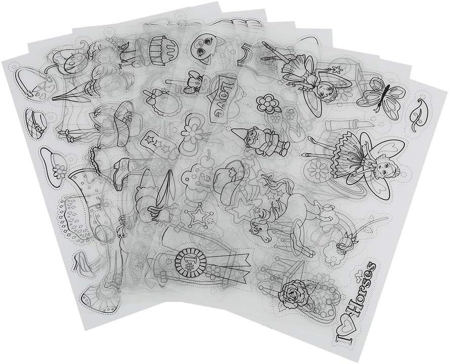 Plastique Thermo-R/étractable avec Motifs Feuilles Plastique R/étractables pour Bonus Artisanal Cha/înes de Cl/és boy20*29CM