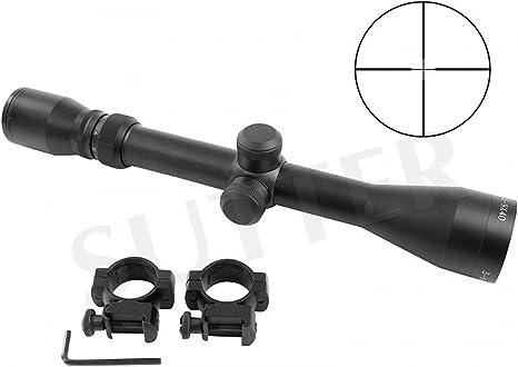 Cannocchiale mirino 3-9x40 d=25,4 Duplex Cannocchiale Ottica con Mirino Reticolo per Fucile carabina Soft Air