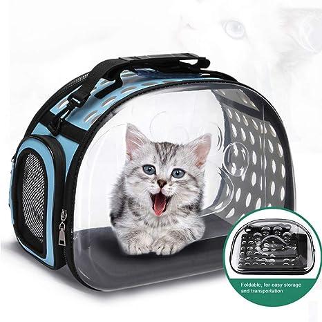 Galapara Portador de Mascotas portátil para Gatos Perros Mascotas Perrera Portadora de Mascotas para Gatos Bolsa de Viaje para Mascotas Bolso de Viaje para Perros pequeños, Gatos y Cachorros: Amazon.es: Productos para