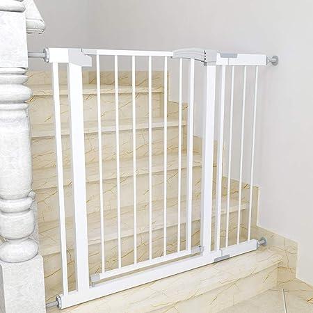 Casa/Escaleras/Puertas/Pasillos Puerta De Seguridad para Bebés, Puerta para Mascotas Extra Alta, Montaje A Presión, Alto 80 Cm (Size : 82-89cm): Amazon.es: Hogar