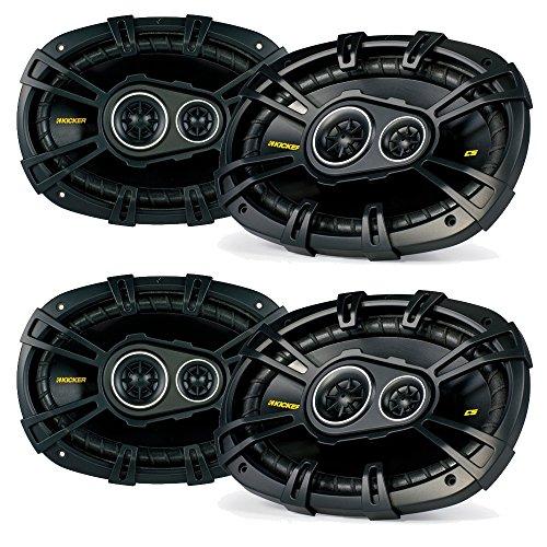 Kicker Ram Crew Cab Truck 2012 & up speaker upgrade - Two pairs of Kicker CS 6x9