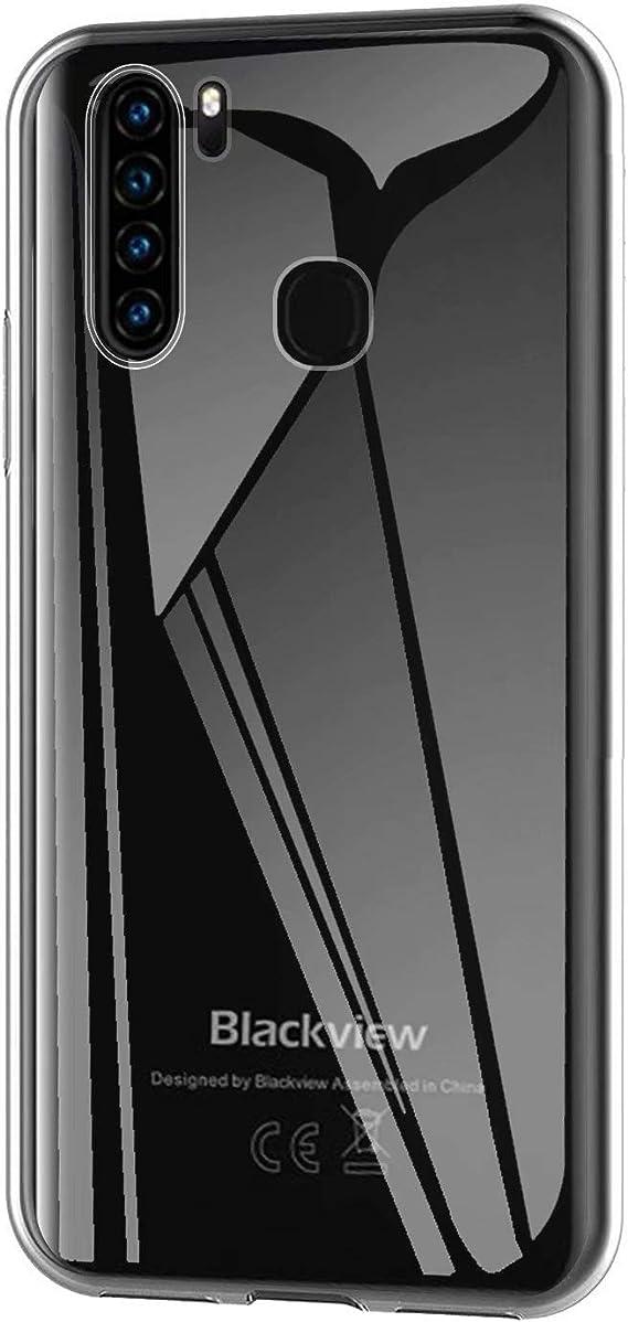 Easbuy Cute Soft TPU Silicium Etui /Étui Housse Coque pour Blackview A80 Pro Smartphone Anti-Scratch Silicone Silikon Cover Silicon Case