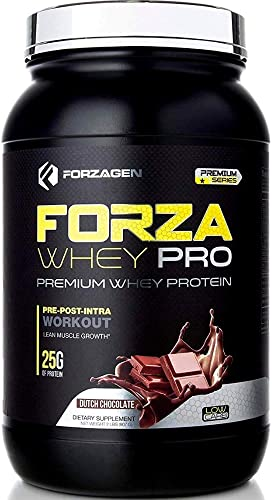 Forzagen Whey Protein Powder – Protein Shakes with 25g of Protein Low Carb Protein Powder No Sugar Added Best Protein Powder Tasting Mass Gainer Weight Gainer Chocolate Protein Powder 2lb