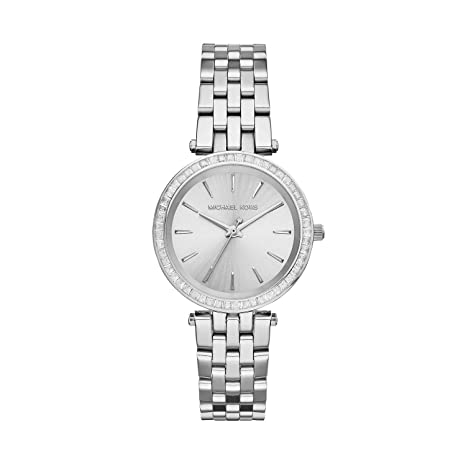 Michael Kors Analog Silver Dial Women's Watch - MK3364 Women's Watches at amazon