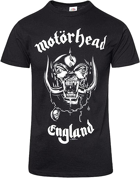 ill Rock Merch Motorhead England Front Only T-Shirt