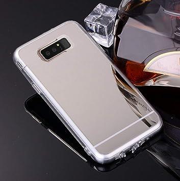 Jinghuash Funda Compatible con Galaxy Note 8,Cristal ...