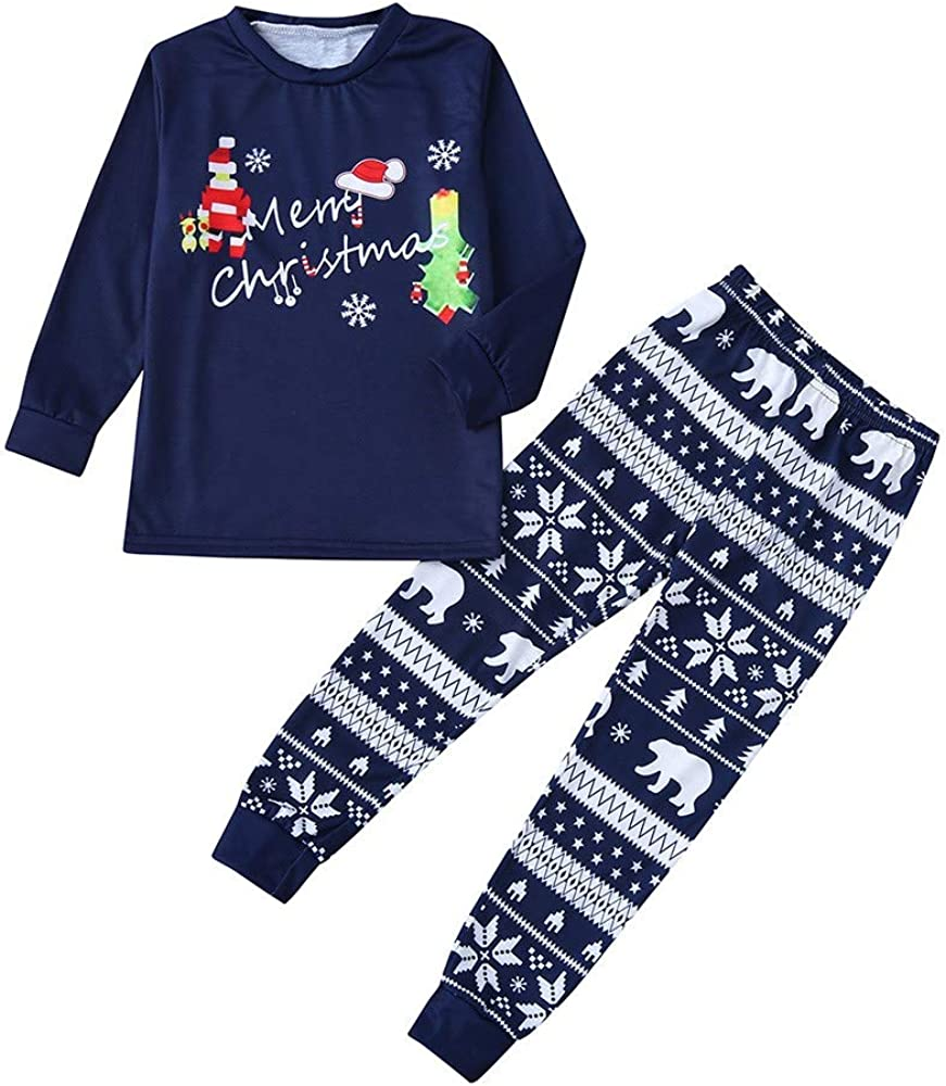 Fossen Kids Pijamas Navideños Familiare Estampados ...