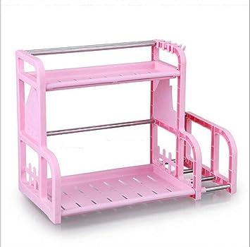 Z Ss 2 Schicht Edelstahl Kuchenregal Kunststoff Wurze Pink Amazon