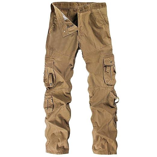 FELZ Pantalones de Trabajo de Hombre, Pantalones de Trabajo Elasticos, Pantalones de Trabajo Multibolsillos: Amazon.es: Ropa y accesorios