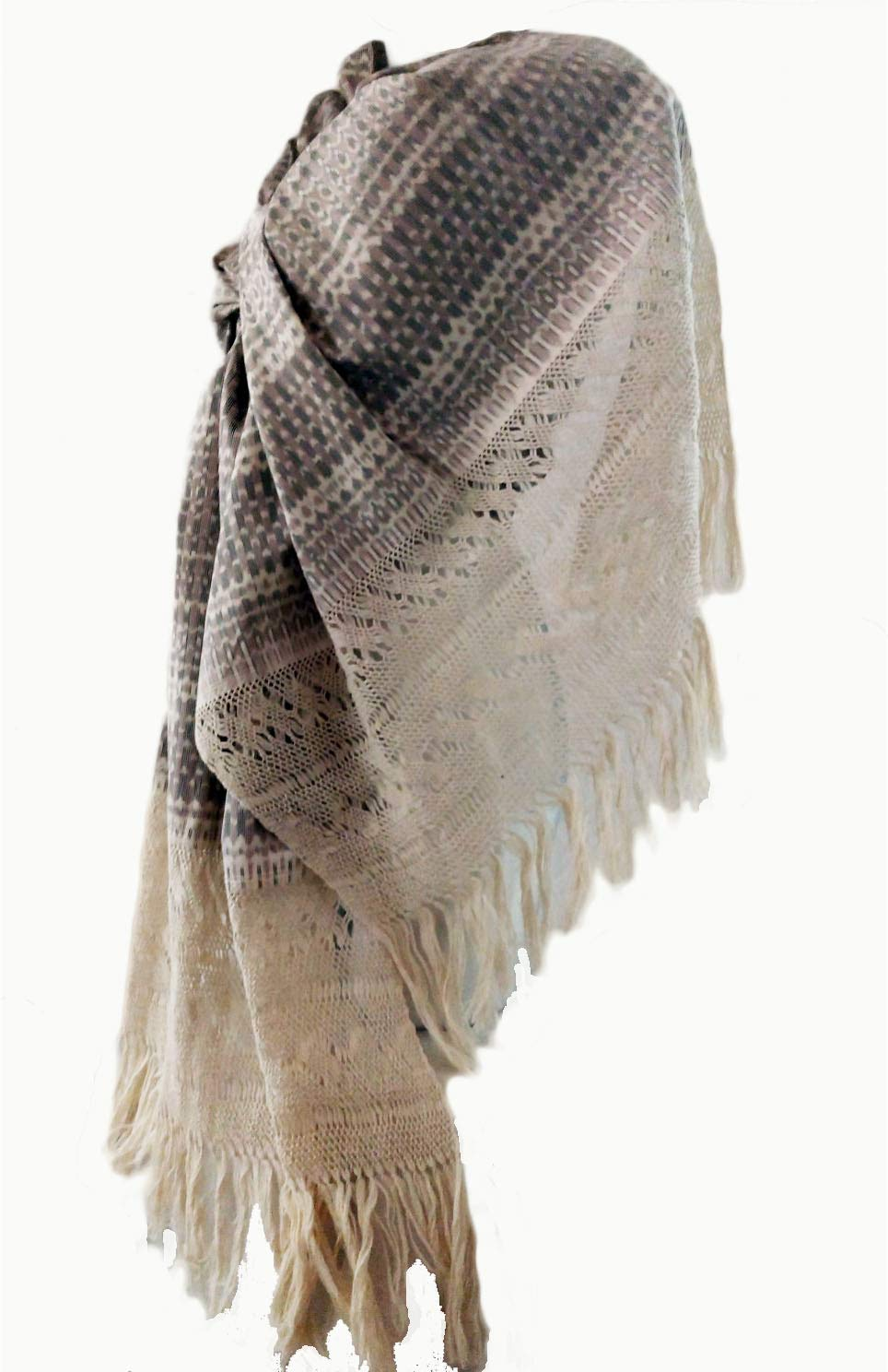 Image of Home and Kitchen Mexican Rebozo, Shawl, Blanket, Doula Bedding, Home Decor Soft Woven, Baby carrier sling for infants and toodlers, Scarf, Pashmina, Poncho, Coat